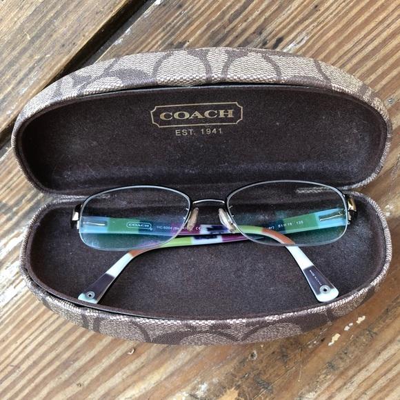 38eaf042f8a Coach Accessories - Coach glasses case with FREE prescription glasses